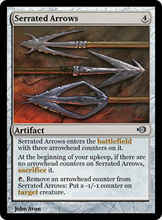 Serrated Arrows [PRM] (F)