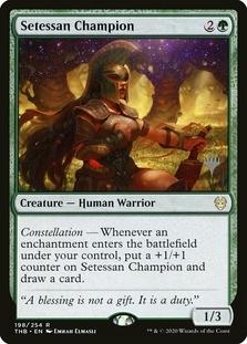 Setessan Champion <planeswalker stamp> [THB]