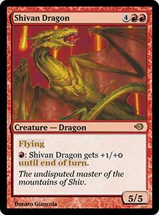Shivan Dragon [PRM] (F)