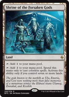Shrine of the Forsaken Gods [BFZ] (F)