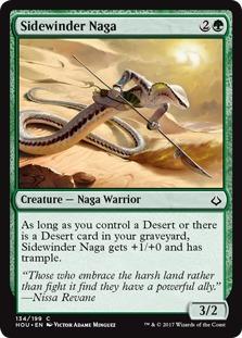 Sidewinder Naga