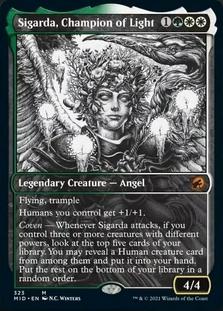 Sigarda, Champion of Light <showcase> [MID]