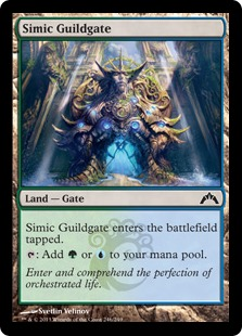 Simic Guildgate [GTC] (F)