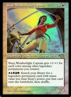 Sisay, Weatherlight Captain [PRM] (F)