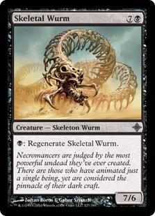 Skeletal Wurm