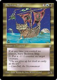 Skeleton Ship