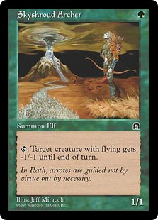 Skyshroud Archer