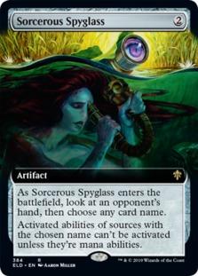 Sorcerous Spyglass <extended> [ELD]