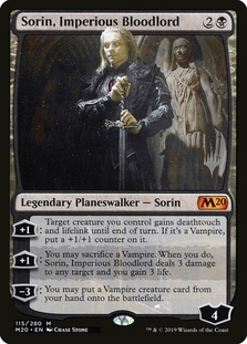 Sorin, Imperious Bloodlord <planeswalker stamp> [M20]