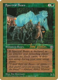 Spectral Bears <Svend Geertsen> [WC97]