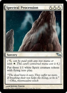 Spectral Procession