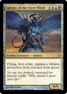 Sphinx of the Steel Wind