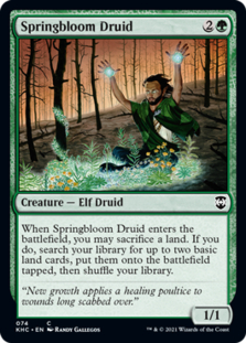Springbloom Druid [KHC]