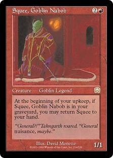Squee, Goblin Nabob [MM]