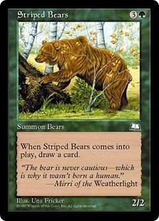 Striped Bears