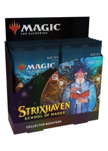 Strixhaven: School of Mages Collector Booster Box <sealed> [STX]