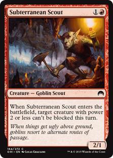 Subterranean Scout