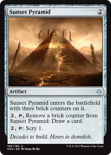 Sunset Pyramid