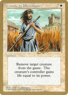 Swords to Plowshares <Eric Tam> [PTC]