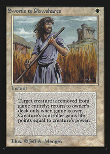 Swords to Plowshares [CEI]