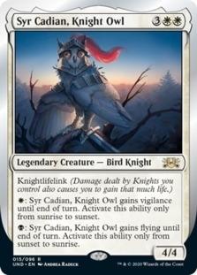 Syr Cadian, Knight Owl