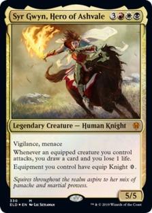 Syr Gwyn, Hero of Ashvale <brawl deck> [ELD] (F)