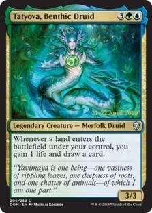 Tatyova, Benthic Druid [PRM-PRE] (F)