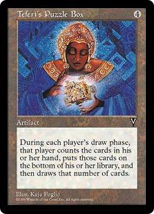 Magic the Gathering MTG Teferi/'s Puzzle Box NM 8th Edition