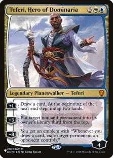 Teferi, Hero of Dominaria [PLIST]