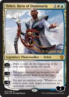 Teferi, Hero of Dominaria [PRM-PRE] (F)