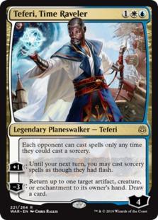 Teferi, Time Raveler [WAR]