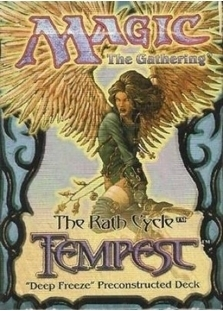 Tempest Theme Deck Deep Freeze, Sealed Product (SEALED