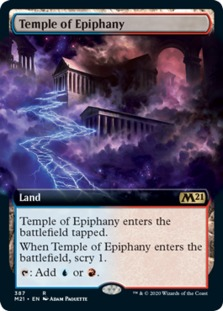 Temple of Epiphany <extended> [M21]