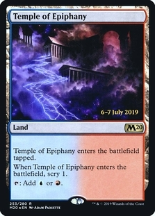 Temple of Epiphany <prerelease> [M20] (F)