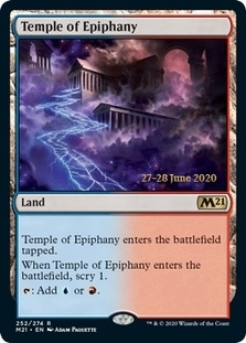 Temple of Epiphany <prerelease> [M21] (F)