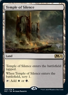 Temple of Silence <planeswalker stamp> [M21] (F)