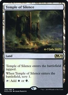 Temple of Silence <prerelease> [M20] (F)
