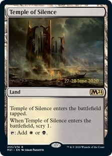 Temple of Silence <prerelease> [M21] (F)