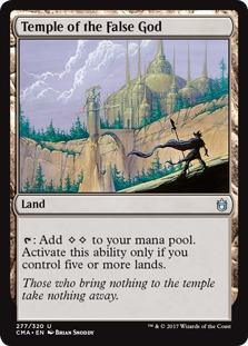 Temple of the False God