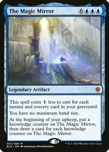 The Magic Mirror <planeswalker stamp> [ELD]