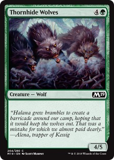 Thornhide Wolves [M19]
