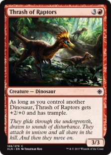 Thrash of Raptors