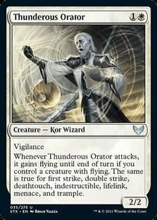 Thunderous Orator