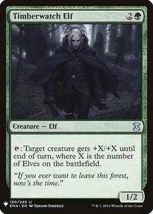 Timberwatch Elf