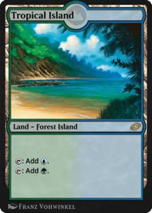 Tropical Island <conjure> [J21]