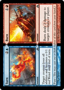 Turn // Burn [DGM] (F)