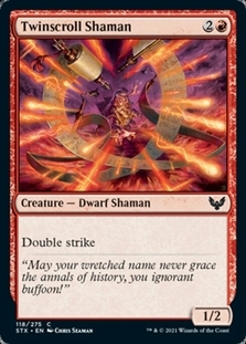 Twinscroll Shaman
