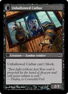 Unhallowed Cathar