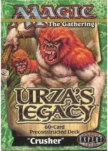 Urza's Legacy Theme Deck: Crusher