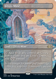 Urza's Mine <borderless> [2XM]